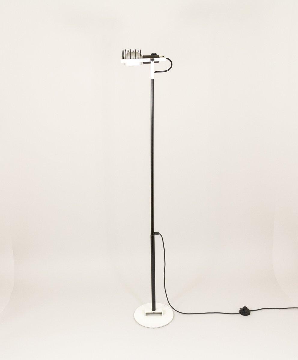 Sintesi Stehlampe in Schwarz & Weiß von Ernesto Gismondi für Artemide,...