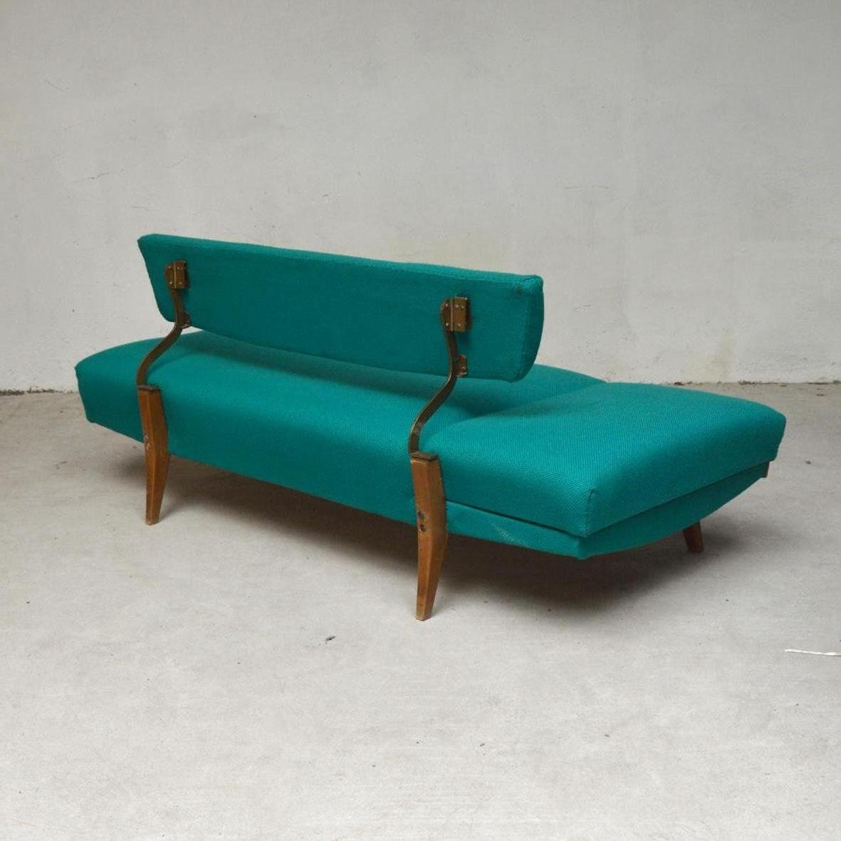 Turquoise Canape Daybed Or Sofa 1960s For Sale At Pamono