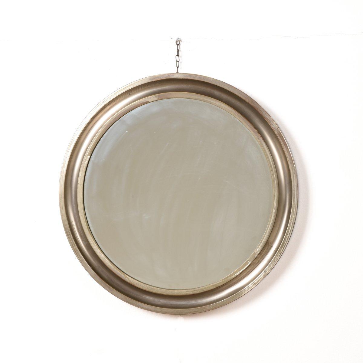 Miroir rond avec cadre en m tal par sergio mazza pour artemide 1961 en vente sur pamono for Miroir rond sans cadre