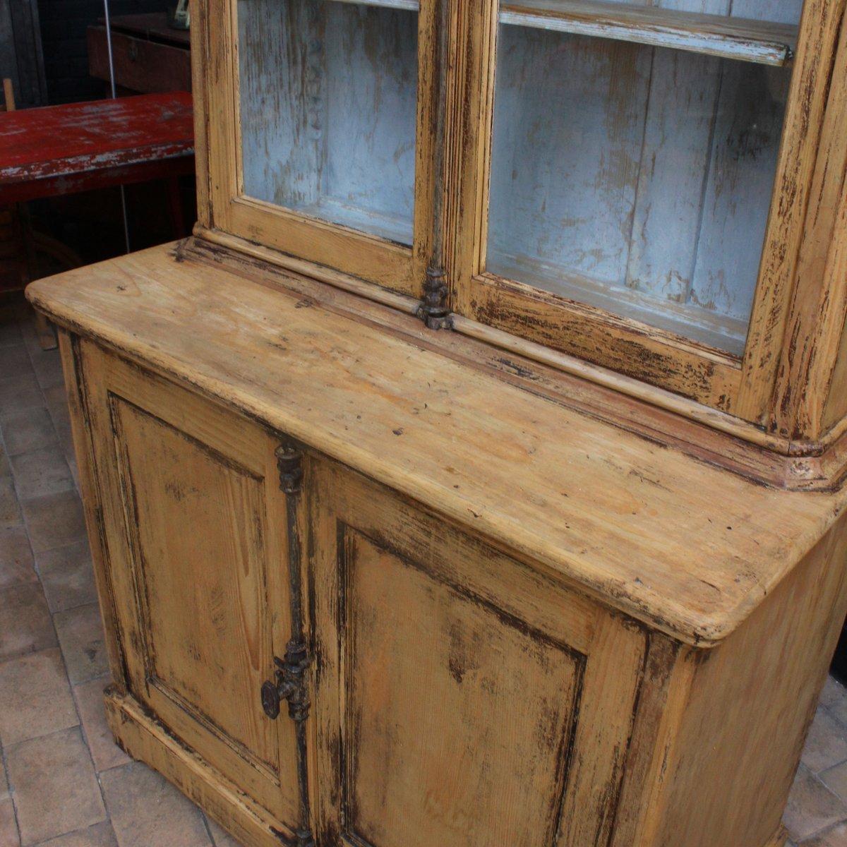 vintage holz buffet 1920er bei pamono kaufen. Black Bedroom Furniture Sets. Home Design Ideas