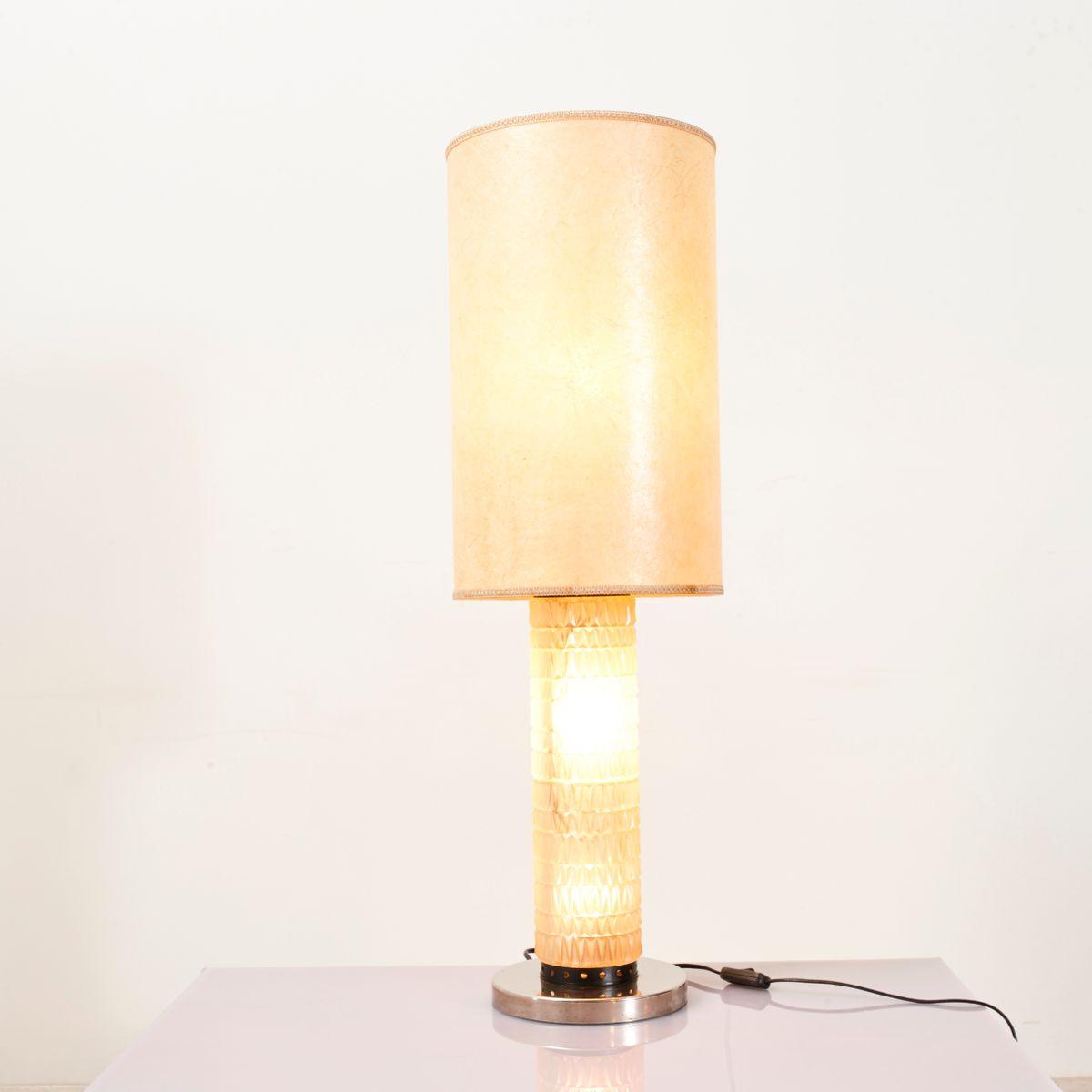 Lampada da tavolo vintage anni 39 50 in vendita su pamono - Lampada da tavolo vintage ebay ...