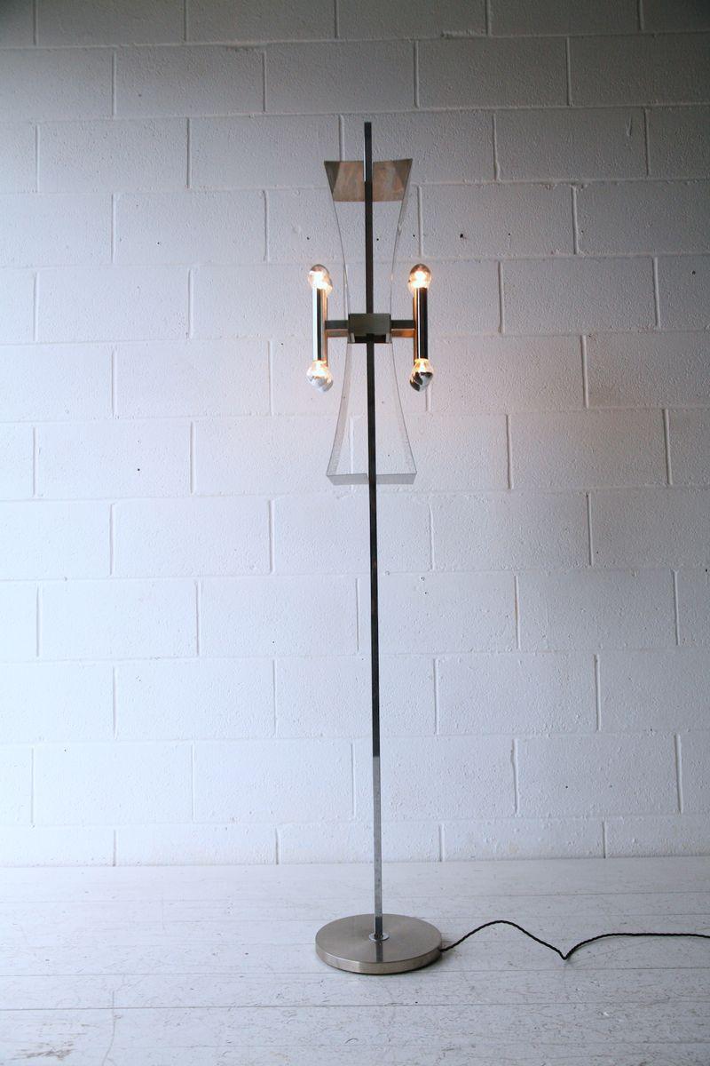 Stehlampe von Sciolari, 1970er