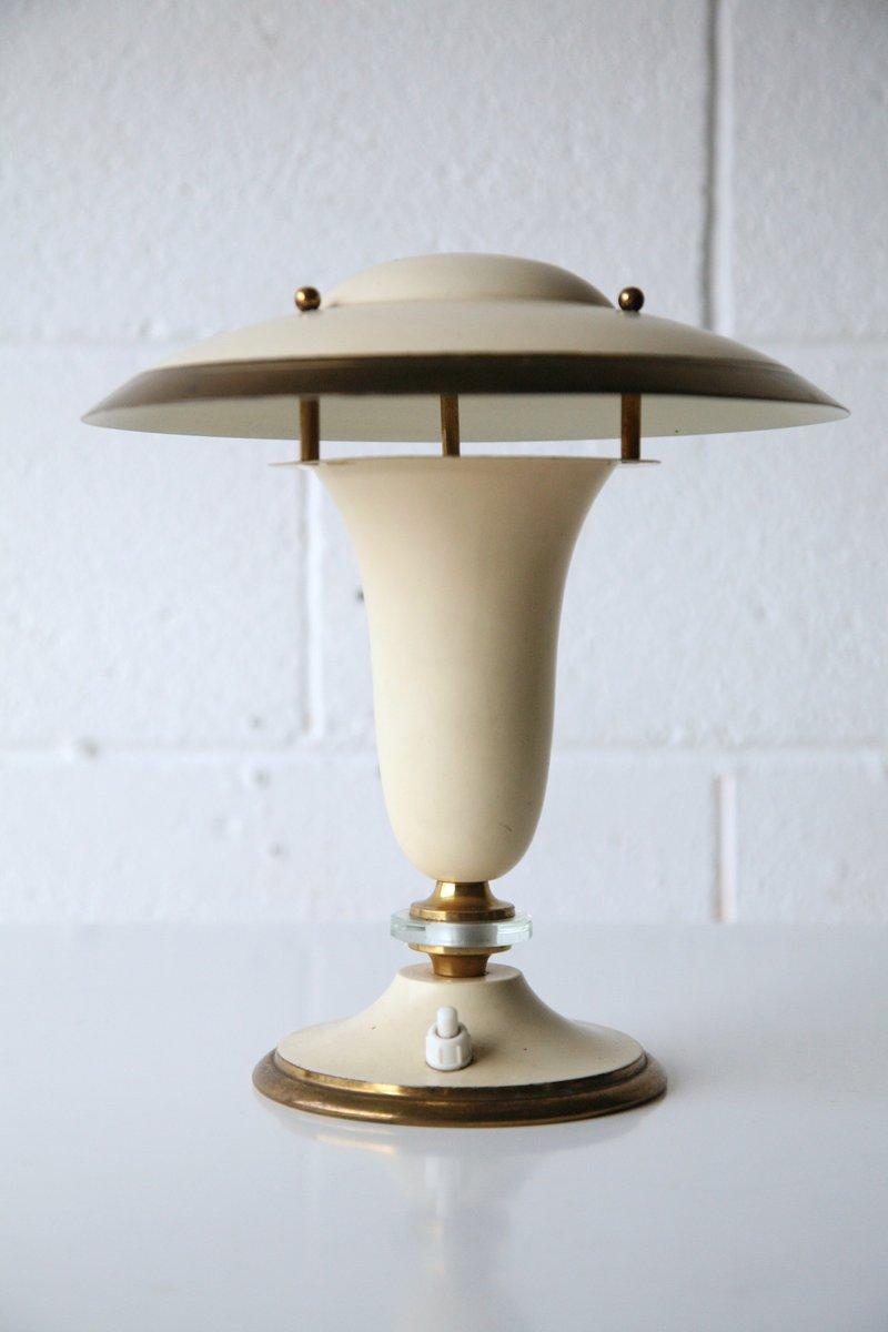 Art Deco Tischlampe von George Halais, 1930er