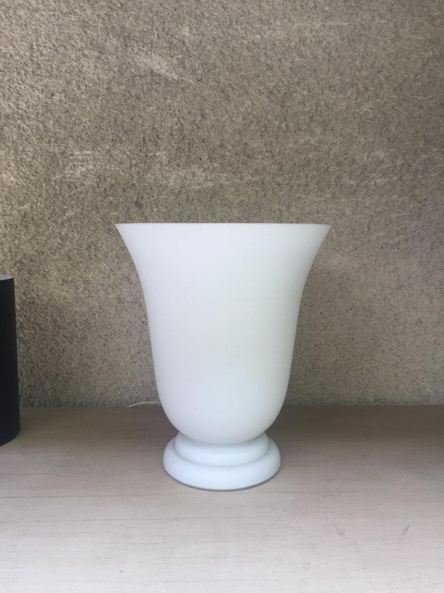Art Deco Opalglas Lampe