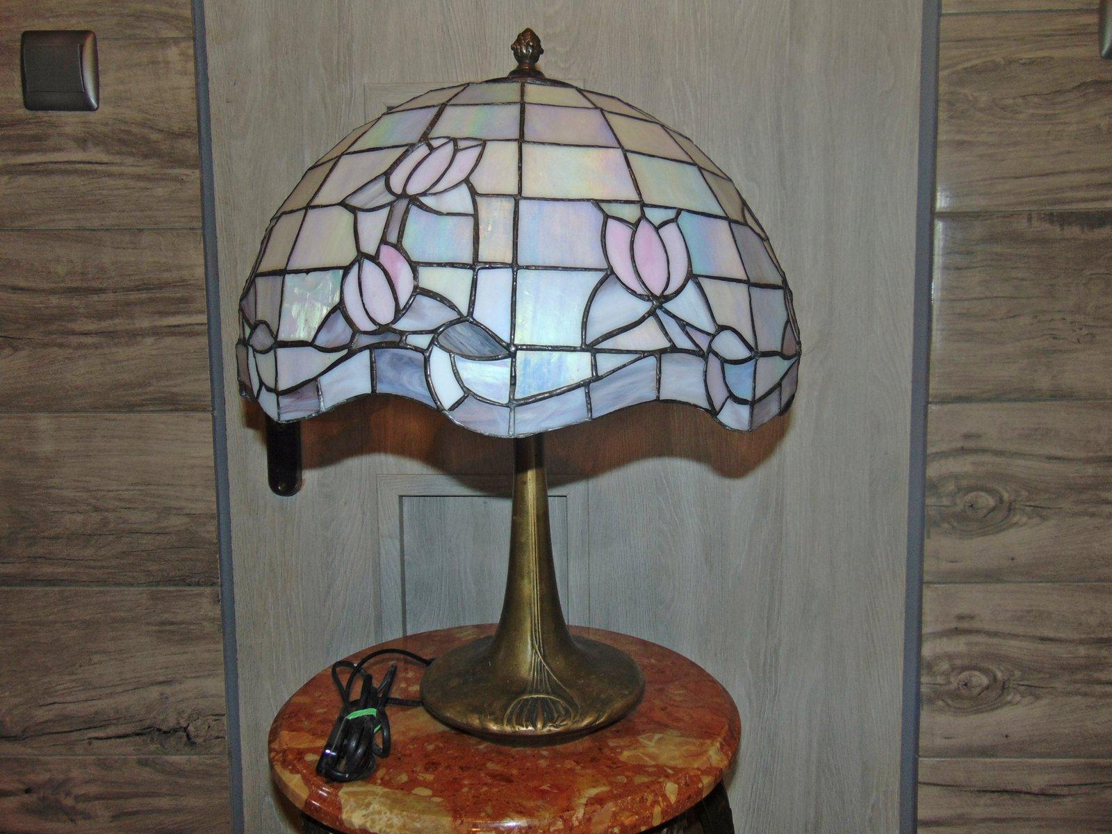 Messing Lampe, 1980er