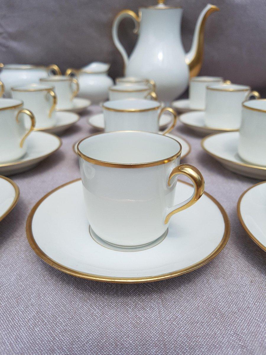 vintage limoges porzellan kaffee service von th odore haviland bei pamono kaufen. Black Bedroom Furniture Sets. Home Design Ideas