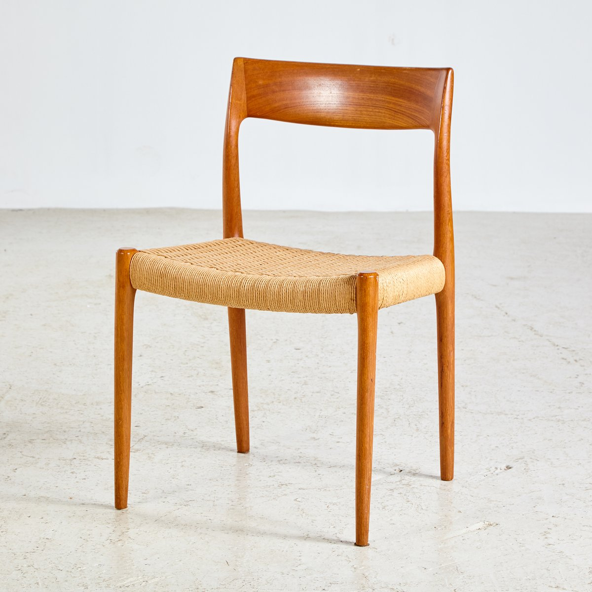 Model 77 Teak Chair By Niels Otto M 248 Ller For J L M 248 Llers