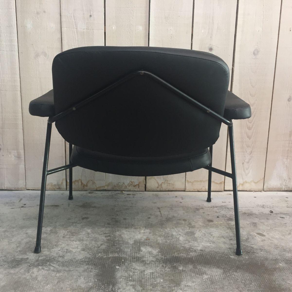 fauteuil cm 190 f par pierre paulin pour thonet 1956 en vente sur pamono. Black Bedroom Furniture Sets. Home Design Ideas