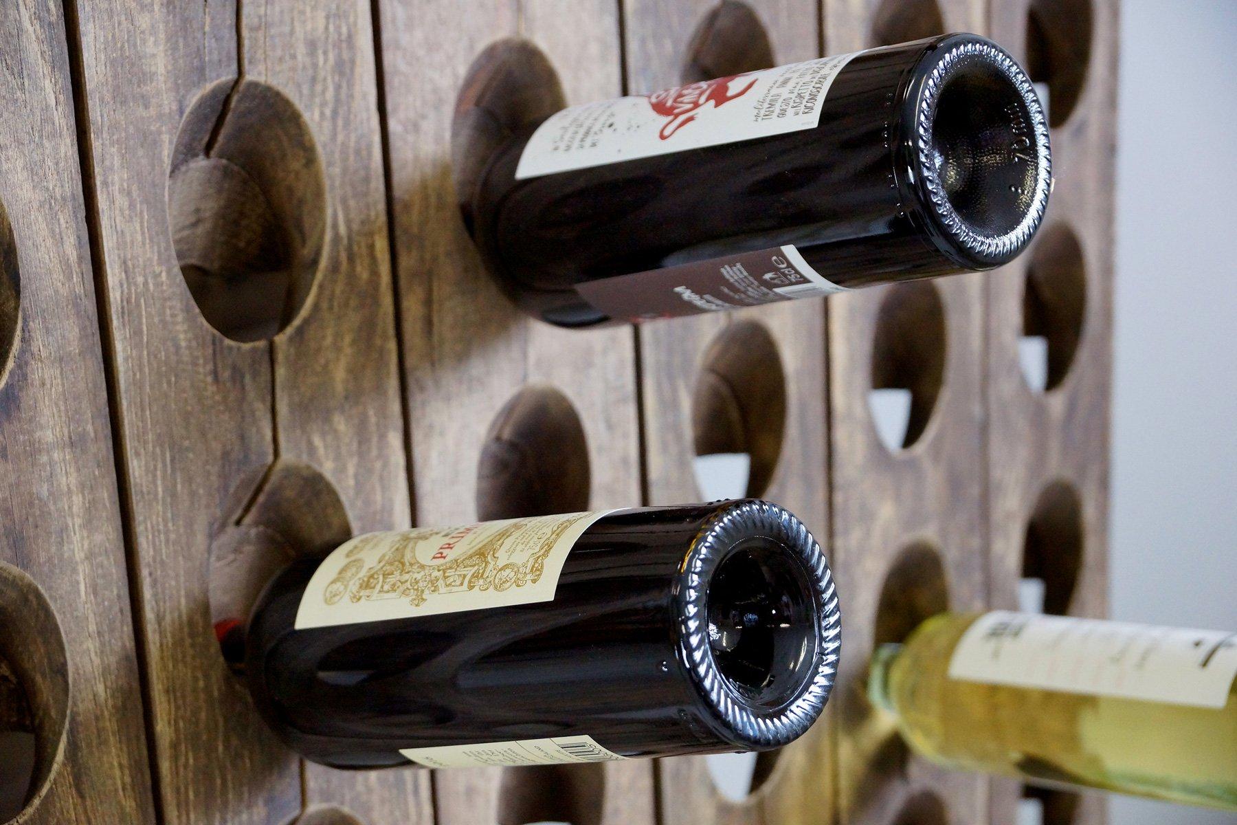 Able Vintage Bronze Vine Bottle Stand Skilful Manufacture Kitchen, Dining & Bar