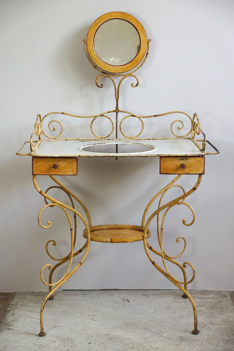Antique French Vanity - Antique French Vanity For Sale At Pamono