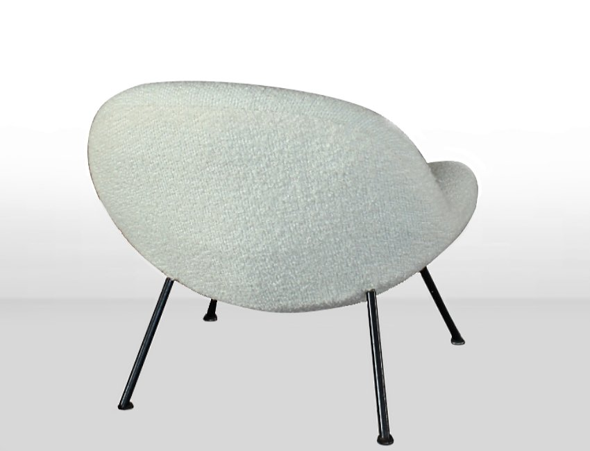 egg chair von fritz neth f r sitzformbau 1950er bei pamono kaufen. Black Bedroom Furniture Sets. Home Design Ideas