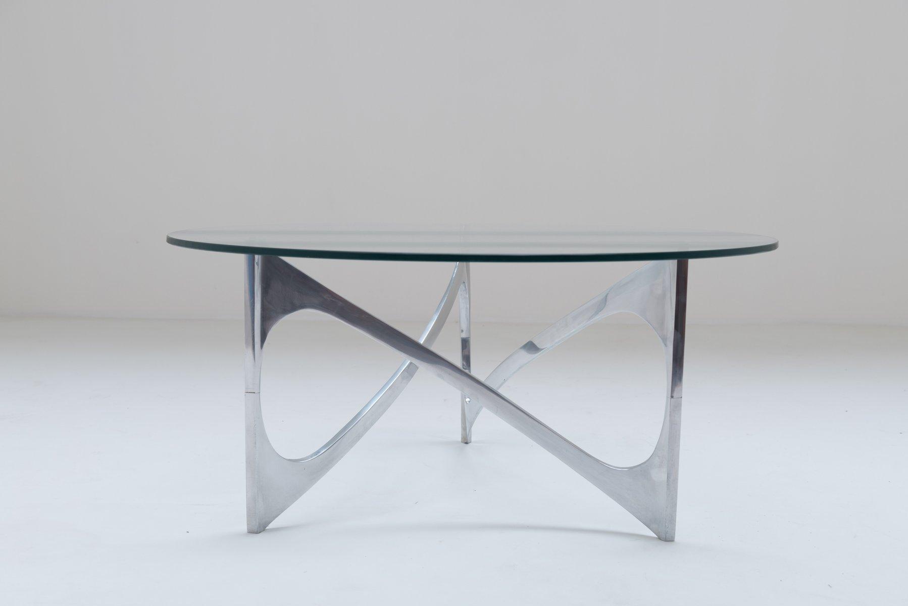 Couchtisch von Knut Hesterberg für Bacher Tische, 1971