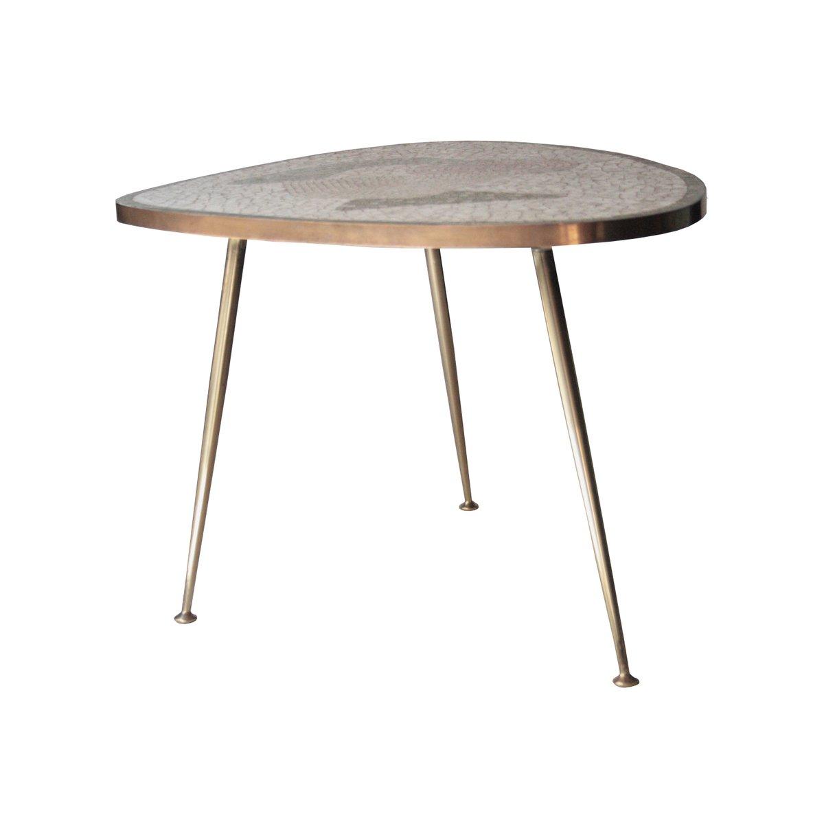 centre de table avec plateau tesselle italie 1960s en vente sur pamono. Black Bedroom Furniture Sets. Home Design Ideas