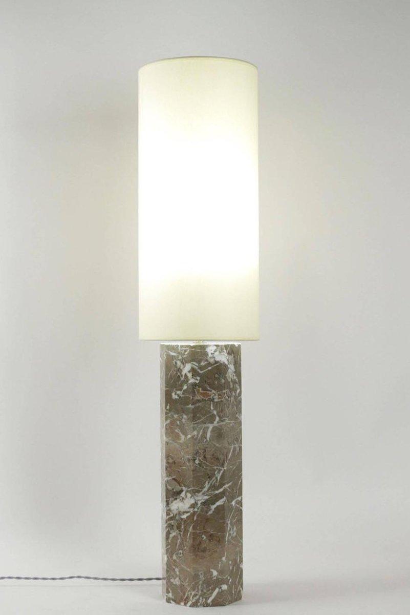 Mid Century Modern Table Lamp In Marble 1980s Bei Pamono Kaufen