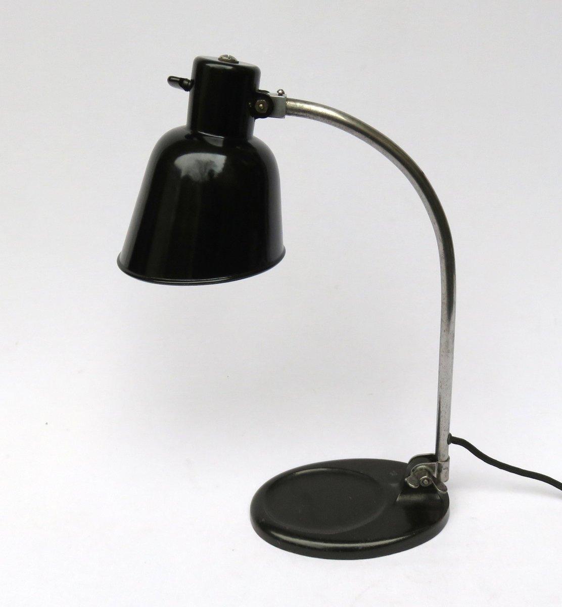 Matador Tischlampe von Bünte & Remmler, 1930er