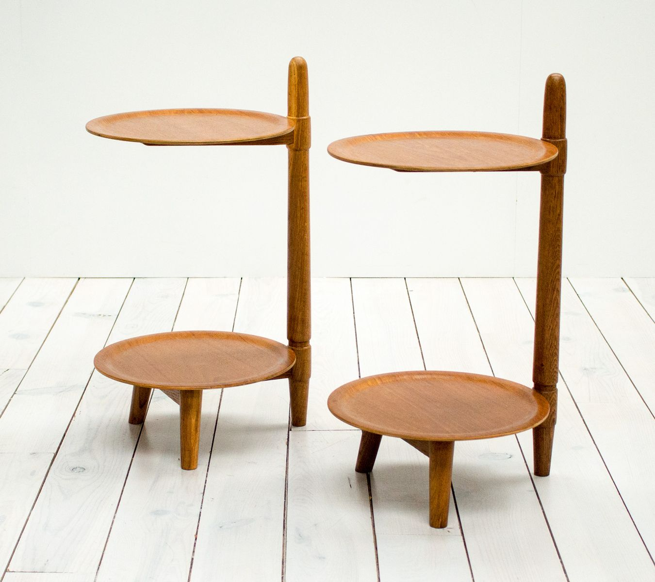 Danish Teak Side Tables From Greaves And Thomas, 1960s, Set Of 2