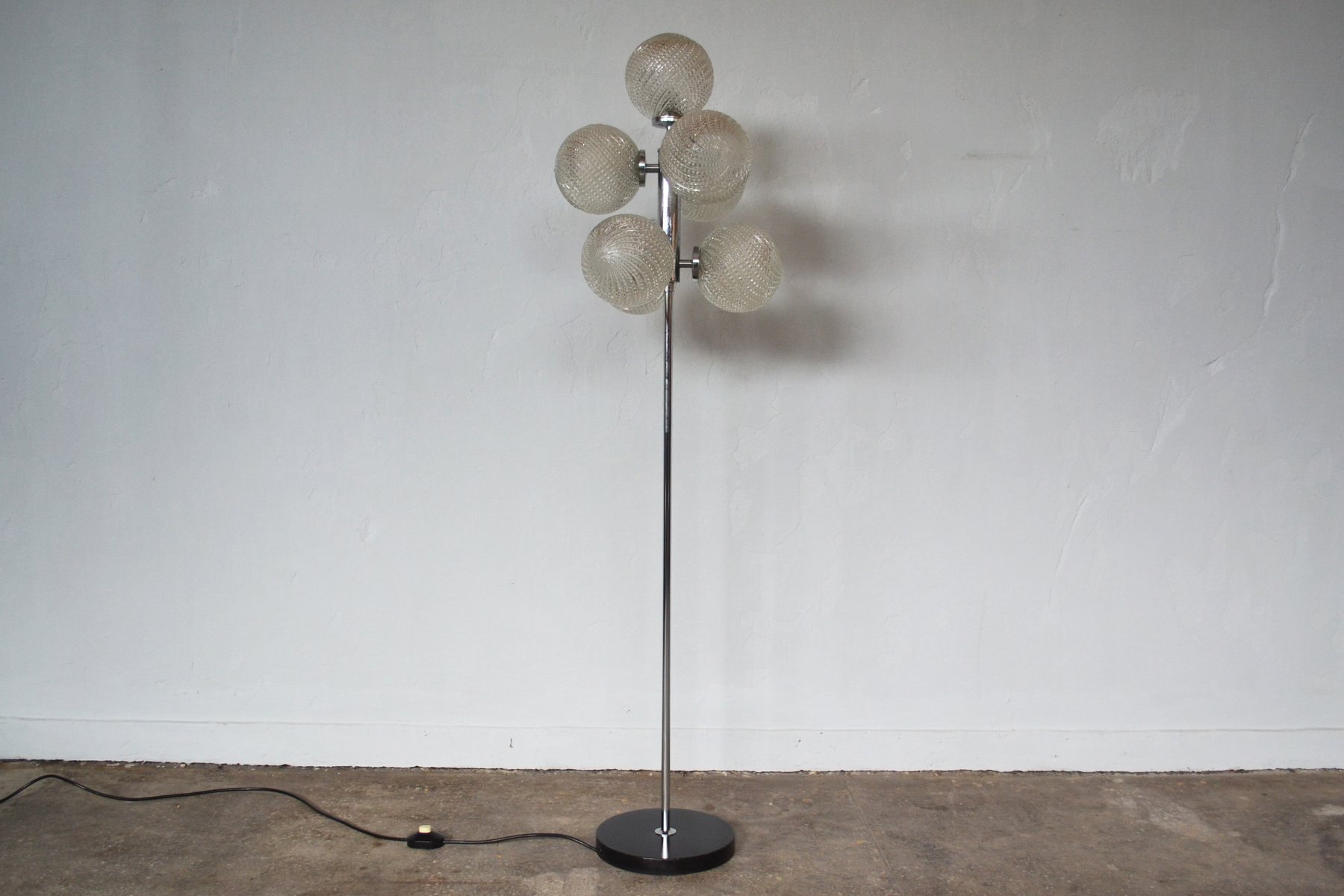 Sputnik Stehlampe, 1970er