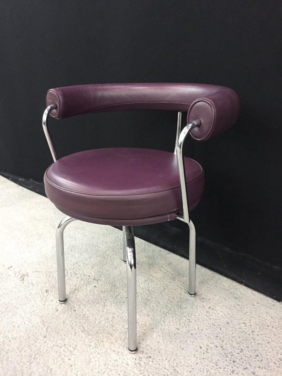 Sedia LC7 vintage di Le Corbusier per Cassina in vendita su Pamono