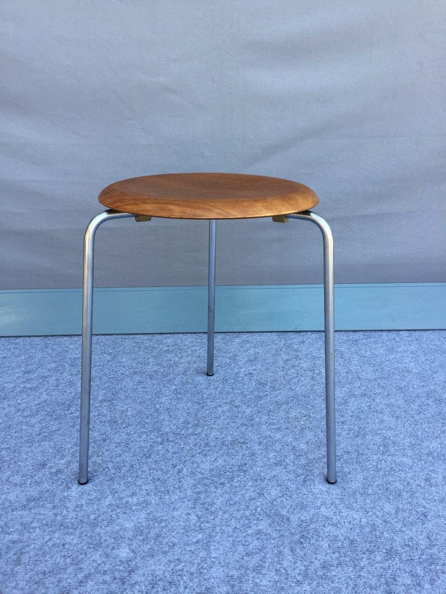 vintage stools by arne jacobsen for fritz hansen set of 2 for sale at pamono. Black Bedroom Furniture Sets. Home Design Ideas