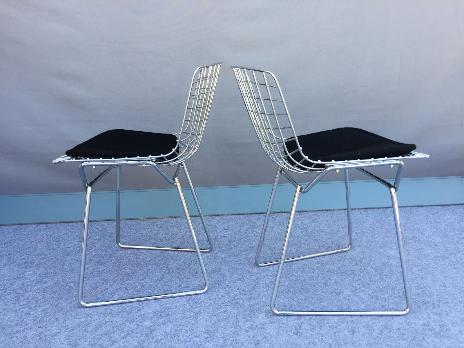 Vintage Children\'s Chairs by Harry Bertoia for Knoll Inc., Set of 2 ...