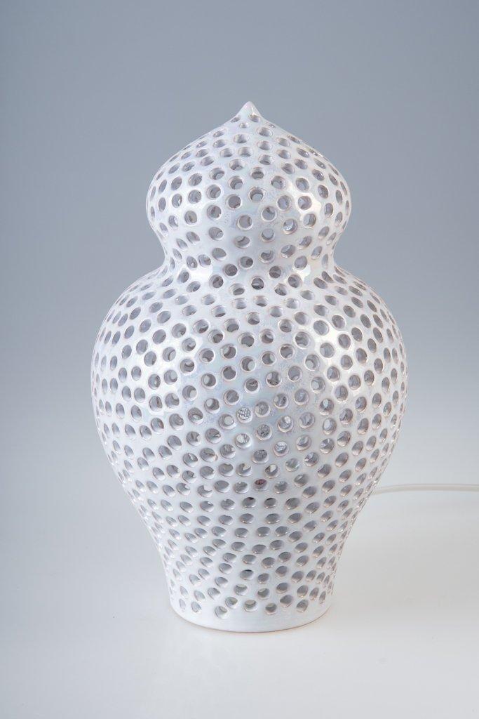Kleine gelochte Araba Stehlampe von Marco Rocco
