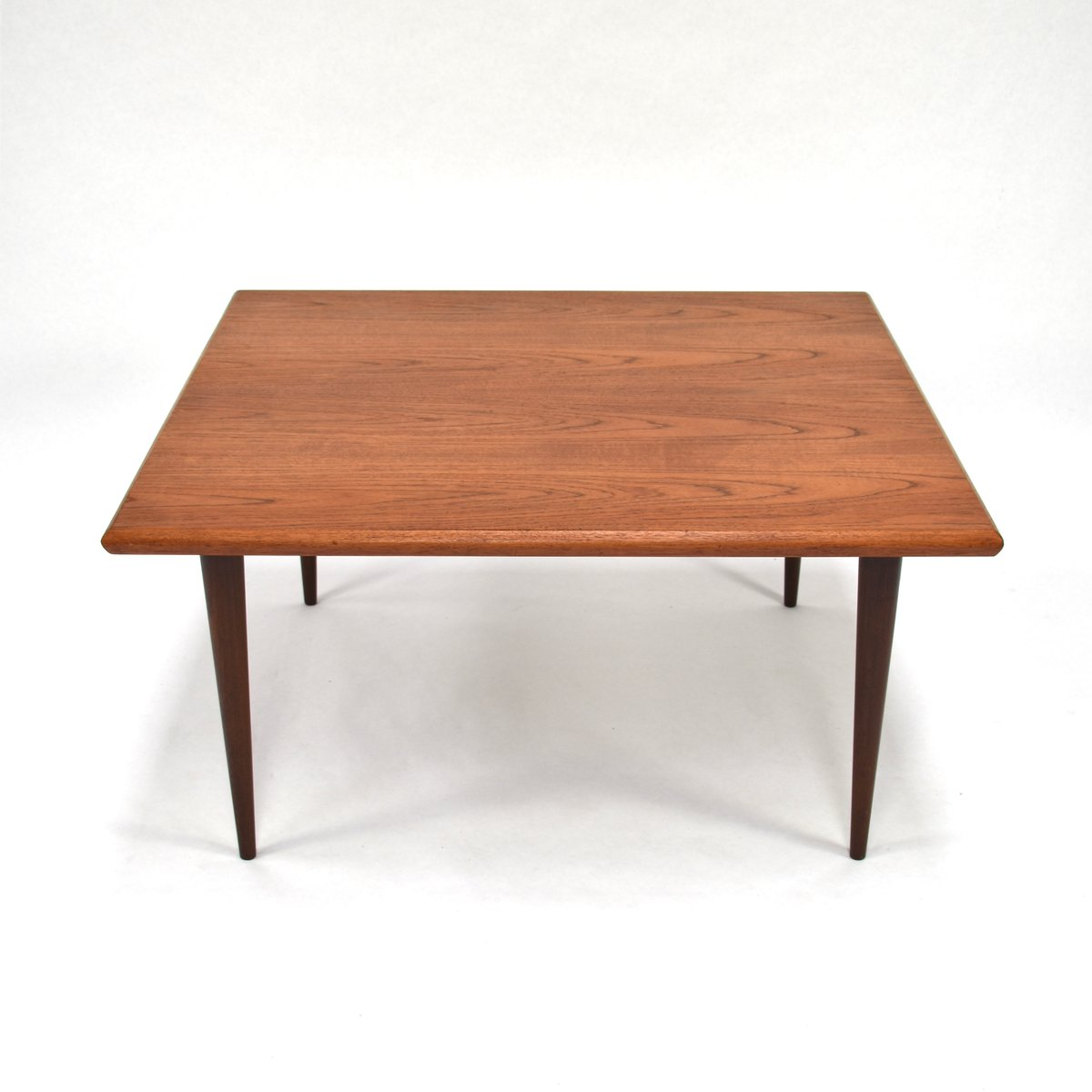 Danish Teak Coffee Table, 1950s for sale at Pamono