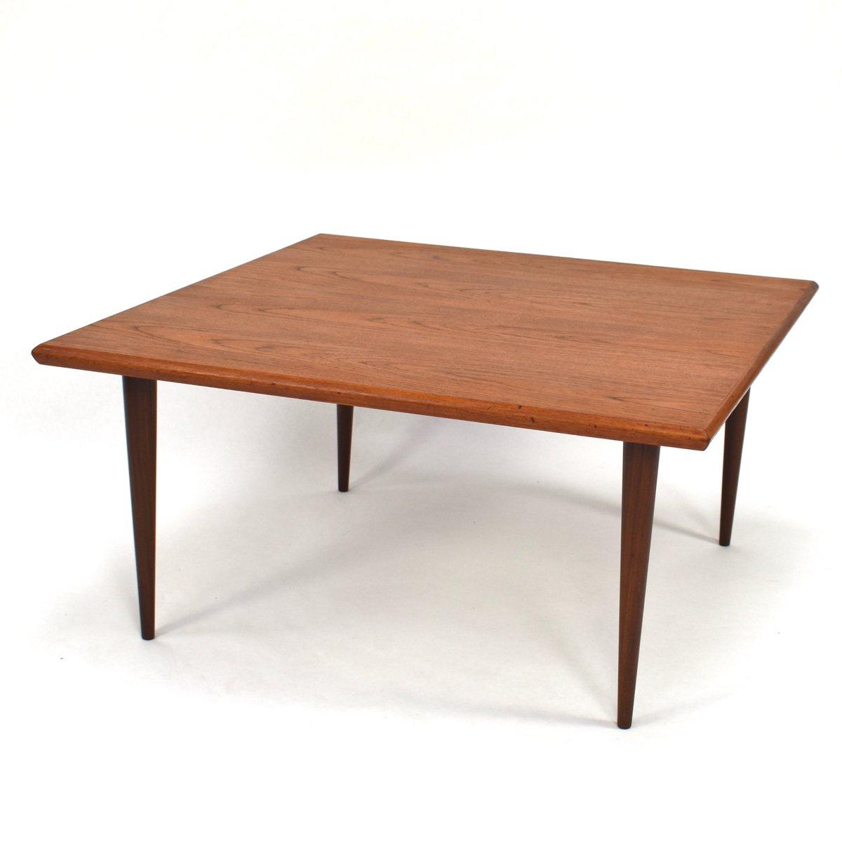 Coffee Table 1950s: Danish Teak Coffee Table, 1950s For Sale At Pamono
