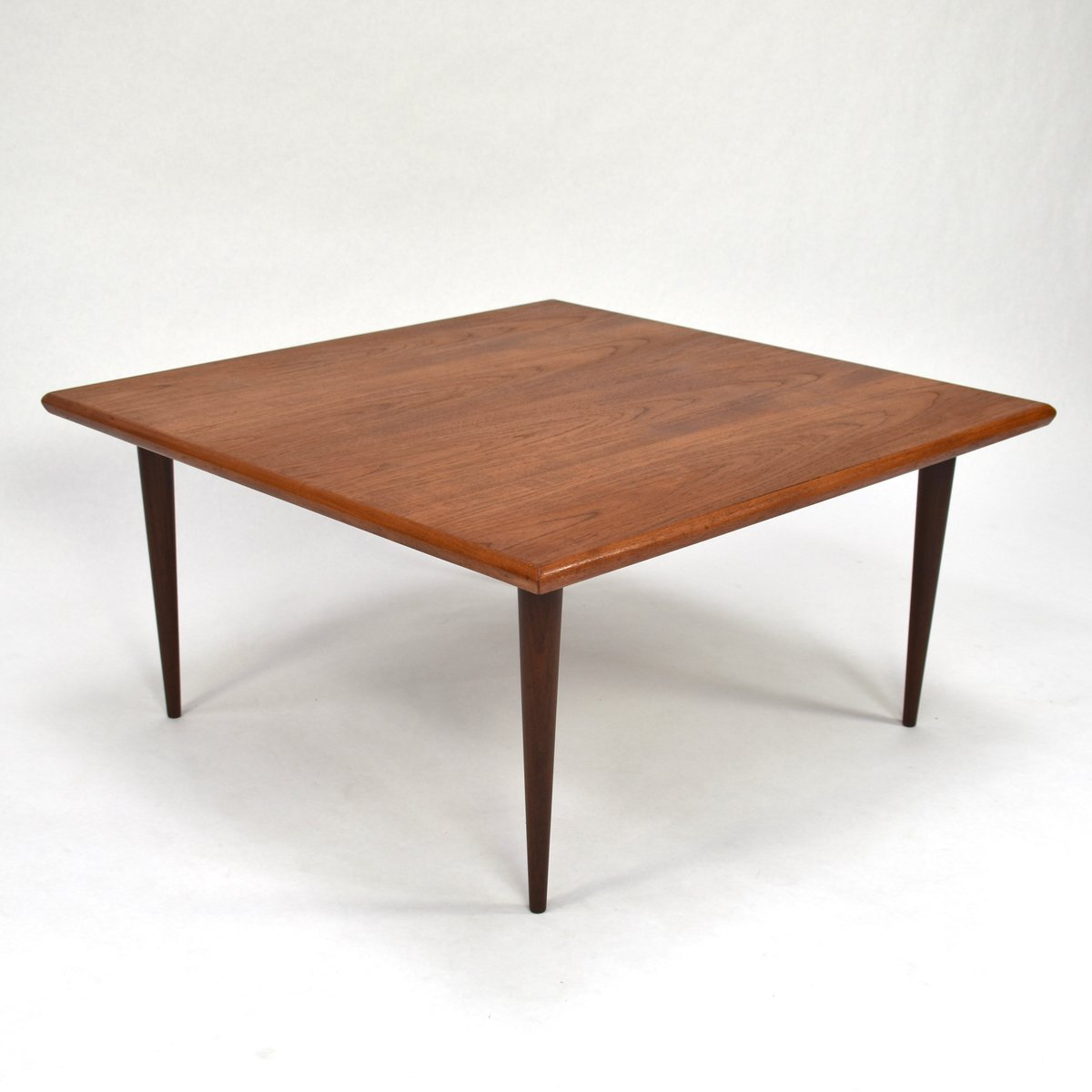 Teak Oil Coffee Table: Danish Teak Coffee Table, 1950s For Sale At Pamono