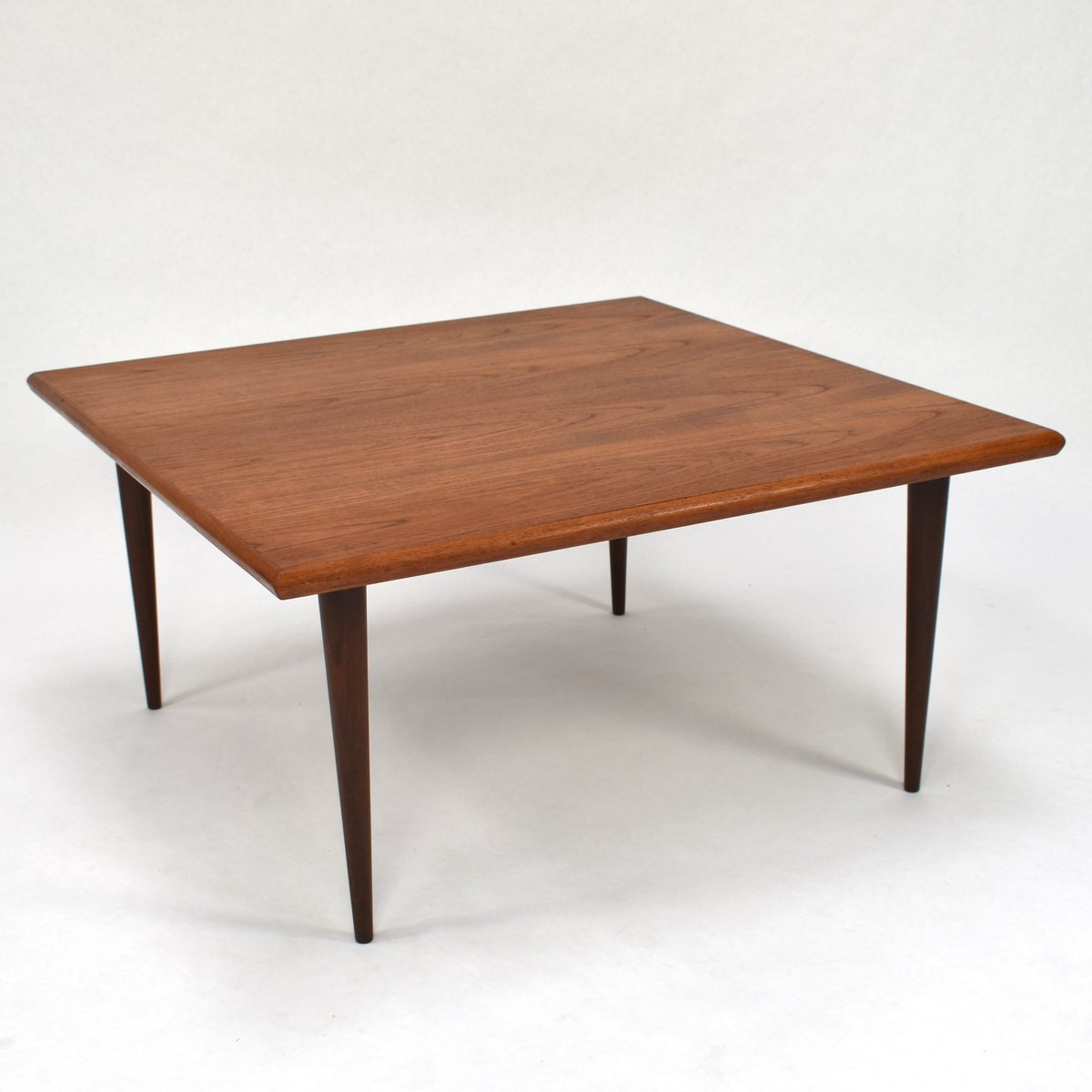 Danish Teak Coffee Table, 1950s For Sale At Pamono