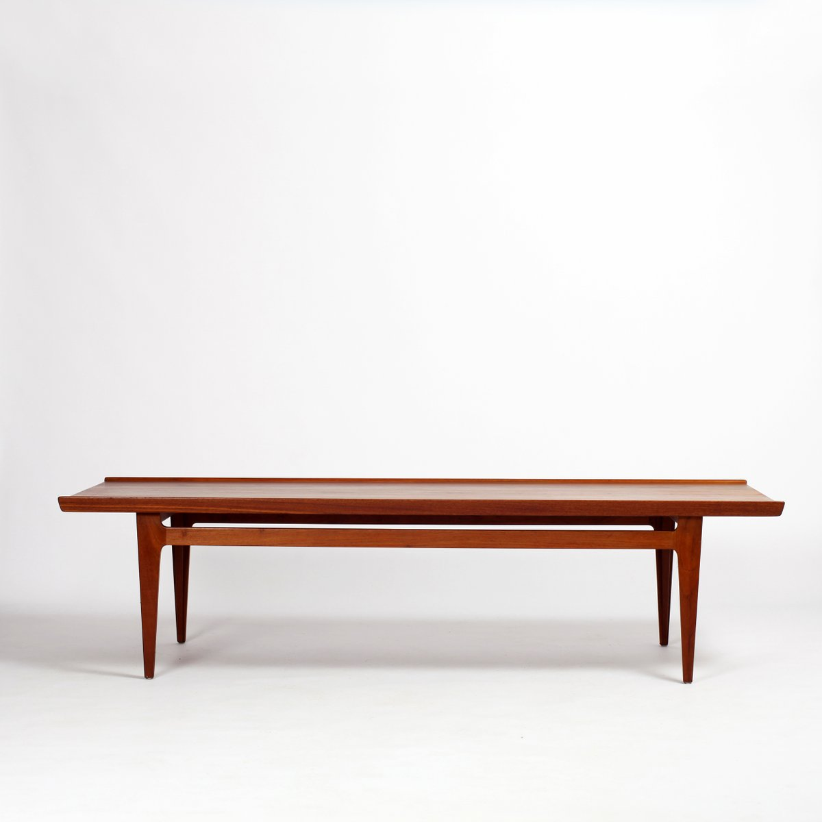 Teak Coffee Table South Africa: Large Teak Coffee Table By Finn Juhl For France