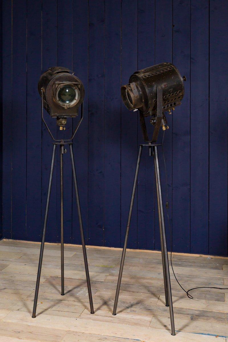 Industrielle Vintage Bühnenlampe