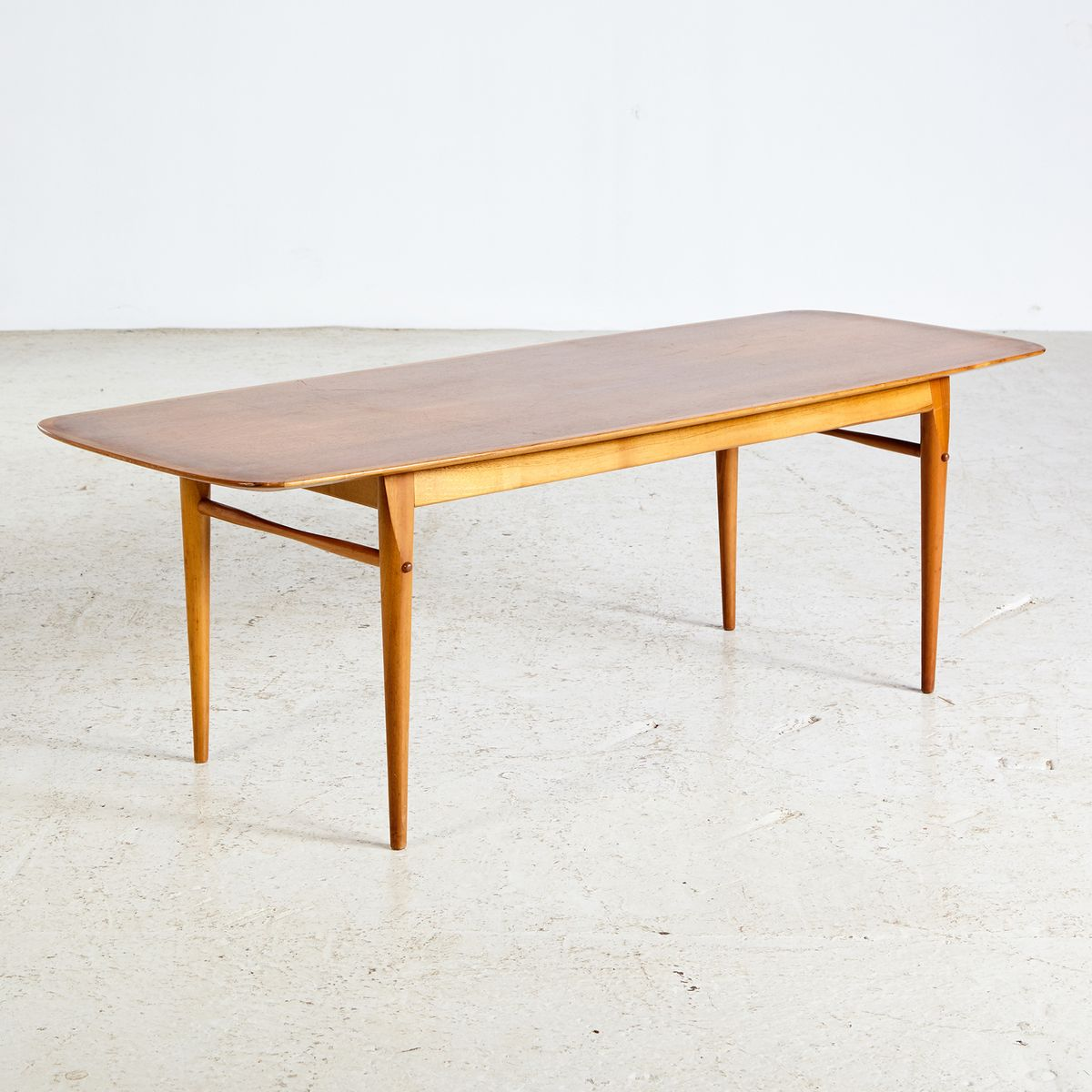 Mid-Century Walnut Coffee Table, 1960s For Sale At Pamono