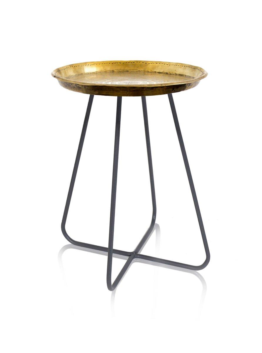 New Casablanca Medium Tisch aus Messing von Young & Battaglia für Mine...
