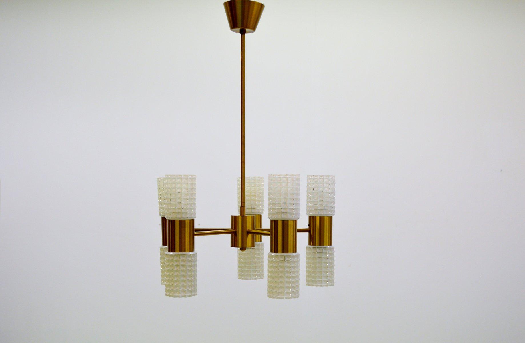 Kronleuchter Ikea Alt ~ Fest messing glas kronleuchter von ikea er bei pamono kaufen