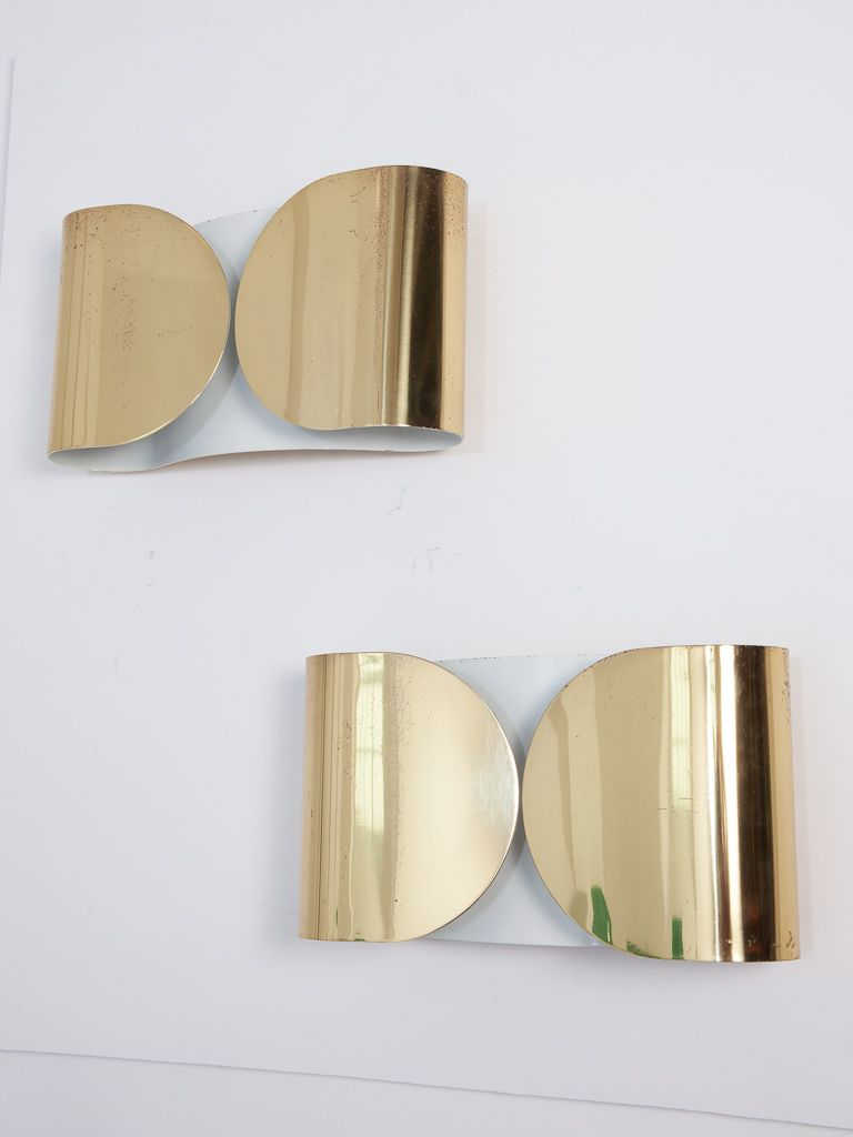 Foglio wall light by tobia scarpa for flos 1966 for sale at pamono foglio wall light by tobia scarpa for flos 1966 aloadofball Gallery