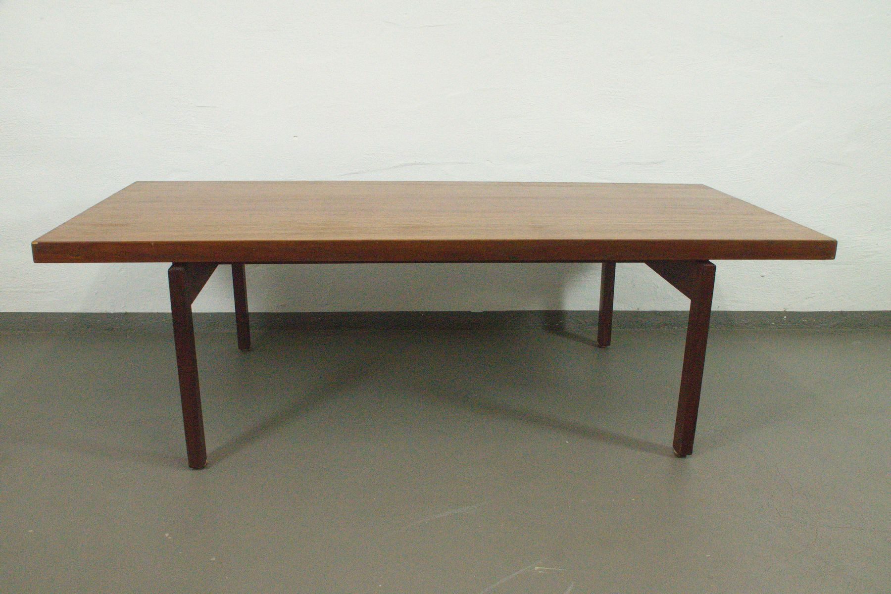 Teak Couchtisch mit schwebender Tischplatte von ASKO, 1960er