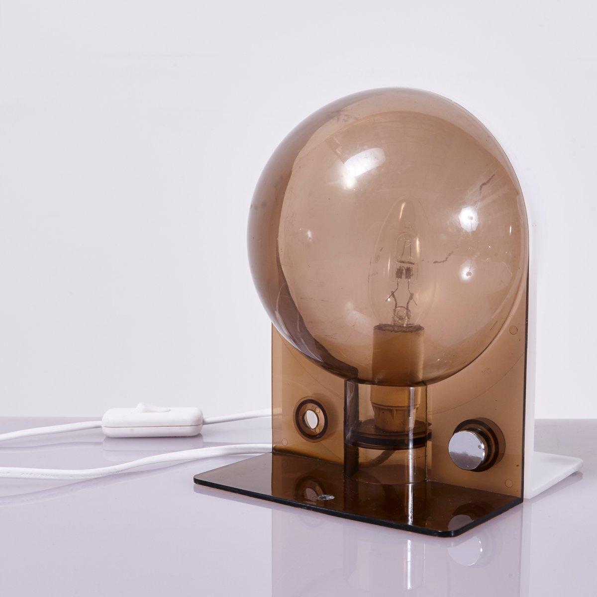Sirio Tischlampe von Sergio Brazzoli für Guzzini, 1970er