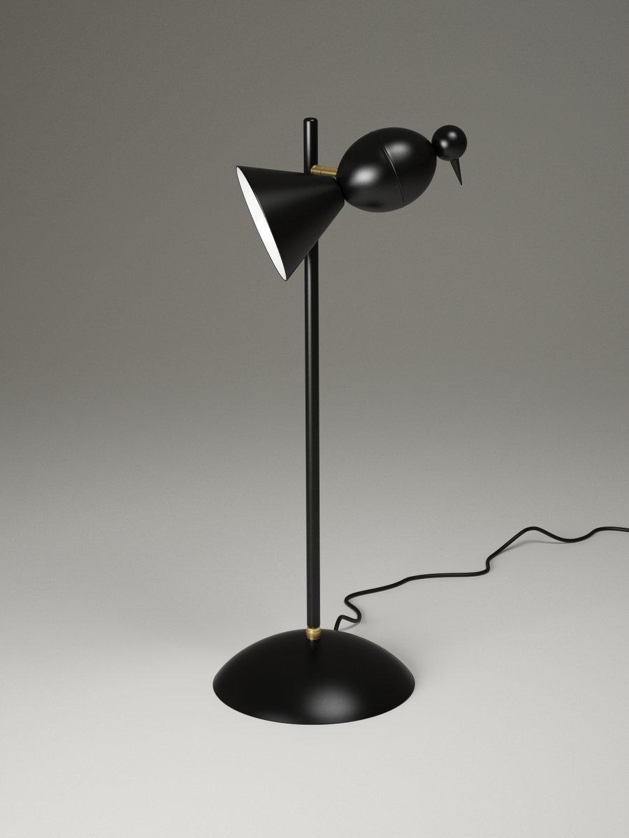 Lampe De Bureau Straight Alouette Par Atelier Areti En Vente Sur Pamono