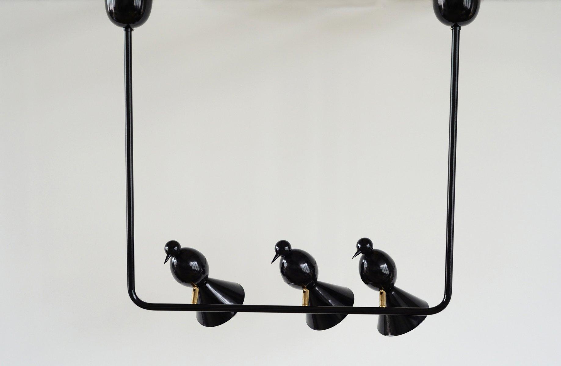 Alouette 3 Birds U Hängelampe von Atelier Areti