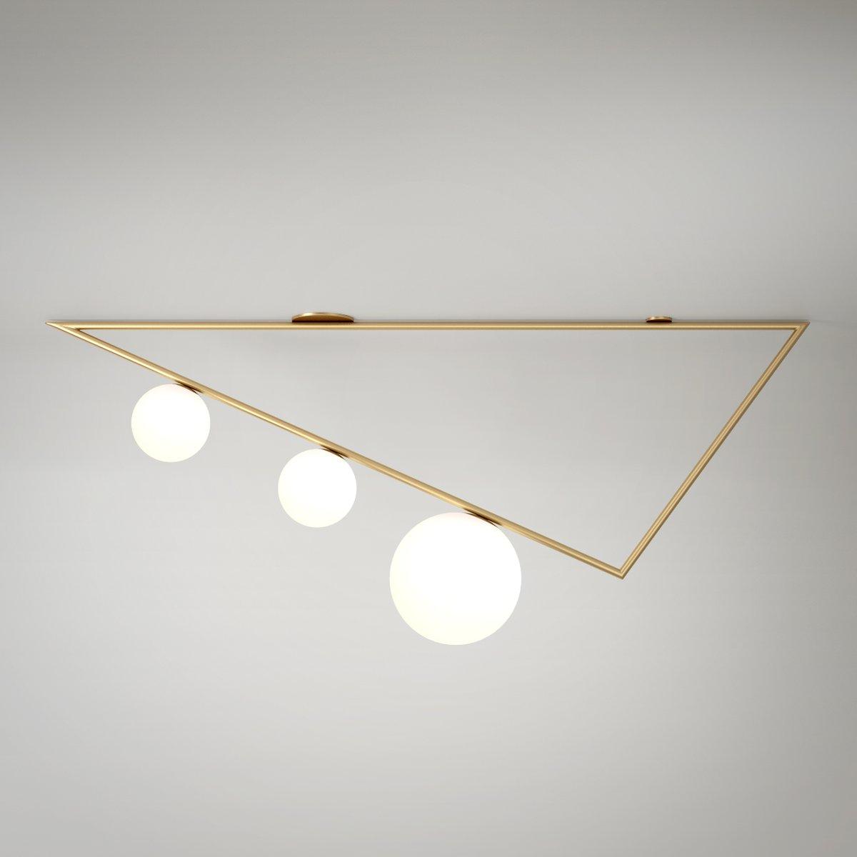 Triangles Deckenlampe von Atelier Areti