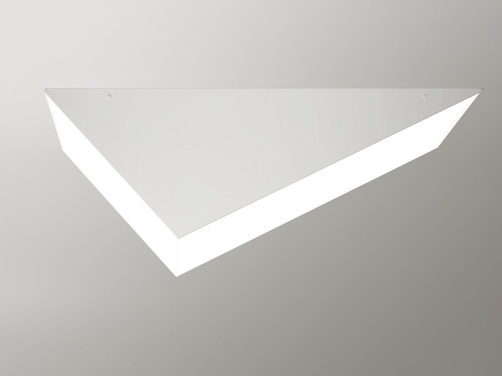 Weiße Solid Decken-oder Wandlampe von Atelier Areti