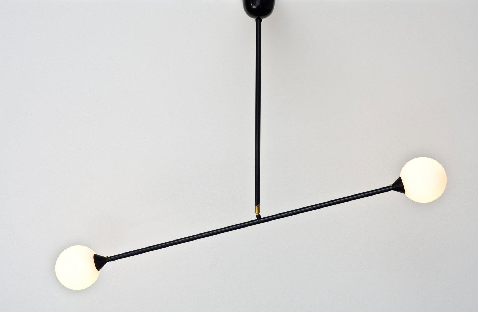 Two Spheres Hängelampe von Atelier Areti