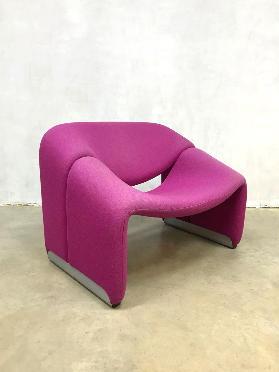 Vintage F598 Groovy Sessel von Pierre Paulin für Artifürt