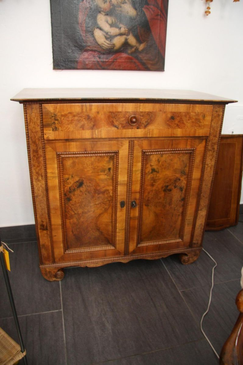 Biedermeier Commode With Voluted Feet 1840s For Sale At Pamono