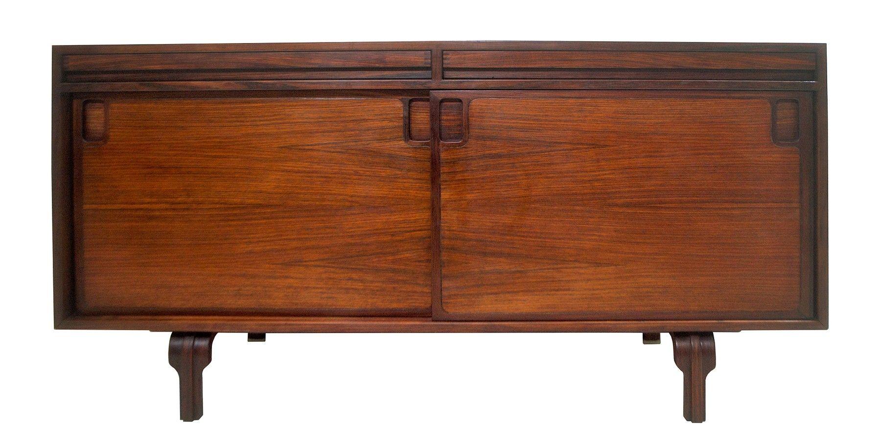 Italienisches Sideboard in Palisander von Luigi Massoni, 1960er