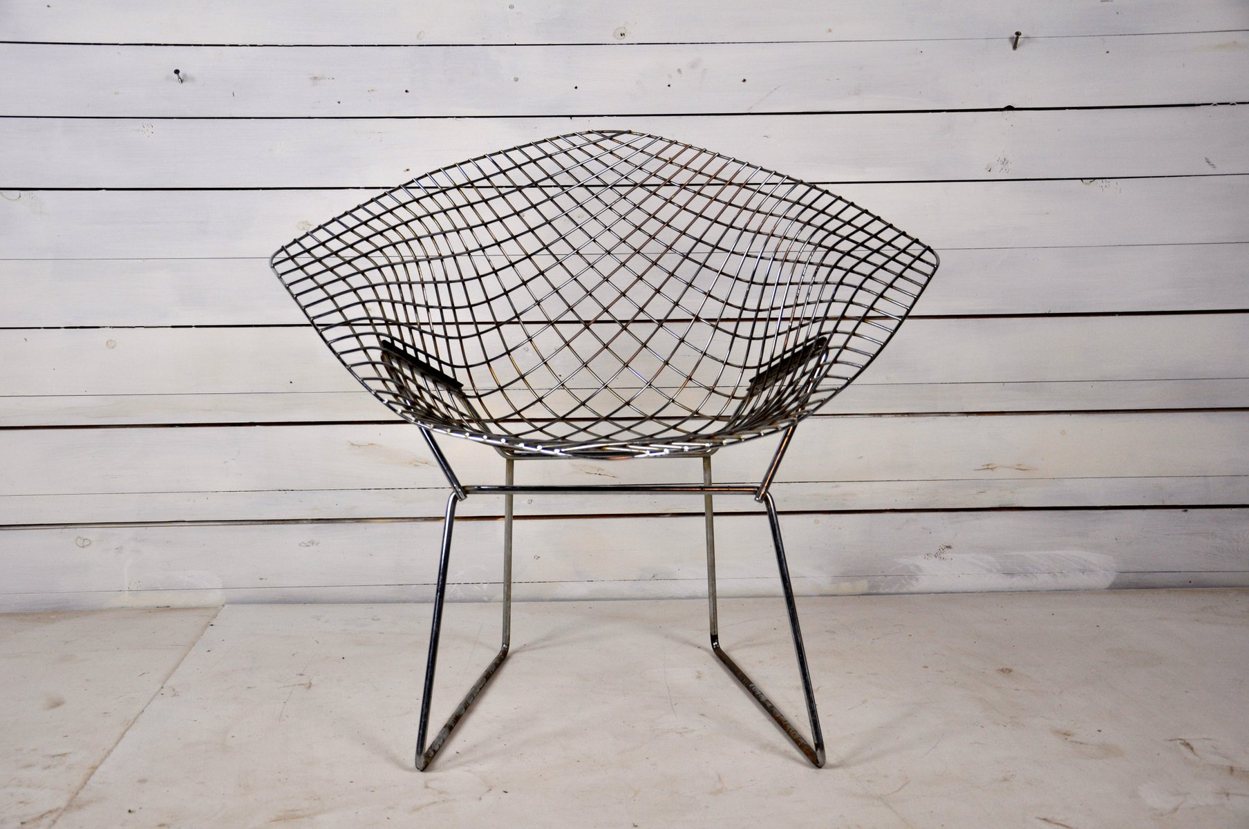 Mid Century Diamond Chair By Harry Bertoia For Knoll International