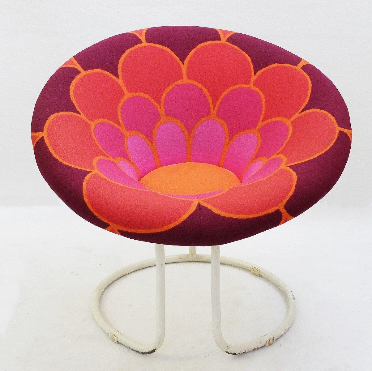 Runder Vintage Sunny Sessel
