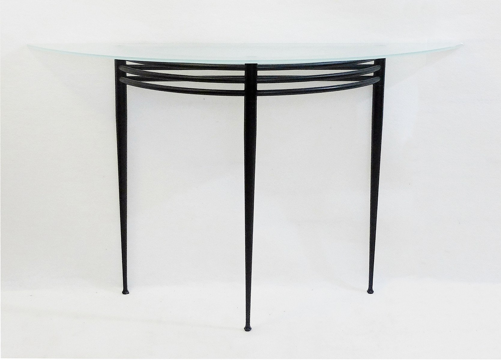 French Atlantique Console Table By Pascal Mourgue 1980s