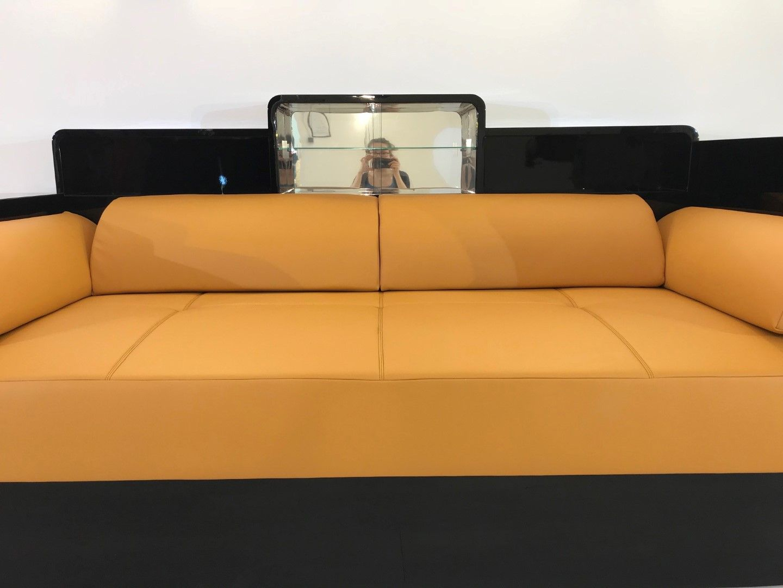 Black Art Deco Sofa 1920s For Sale At Pamono