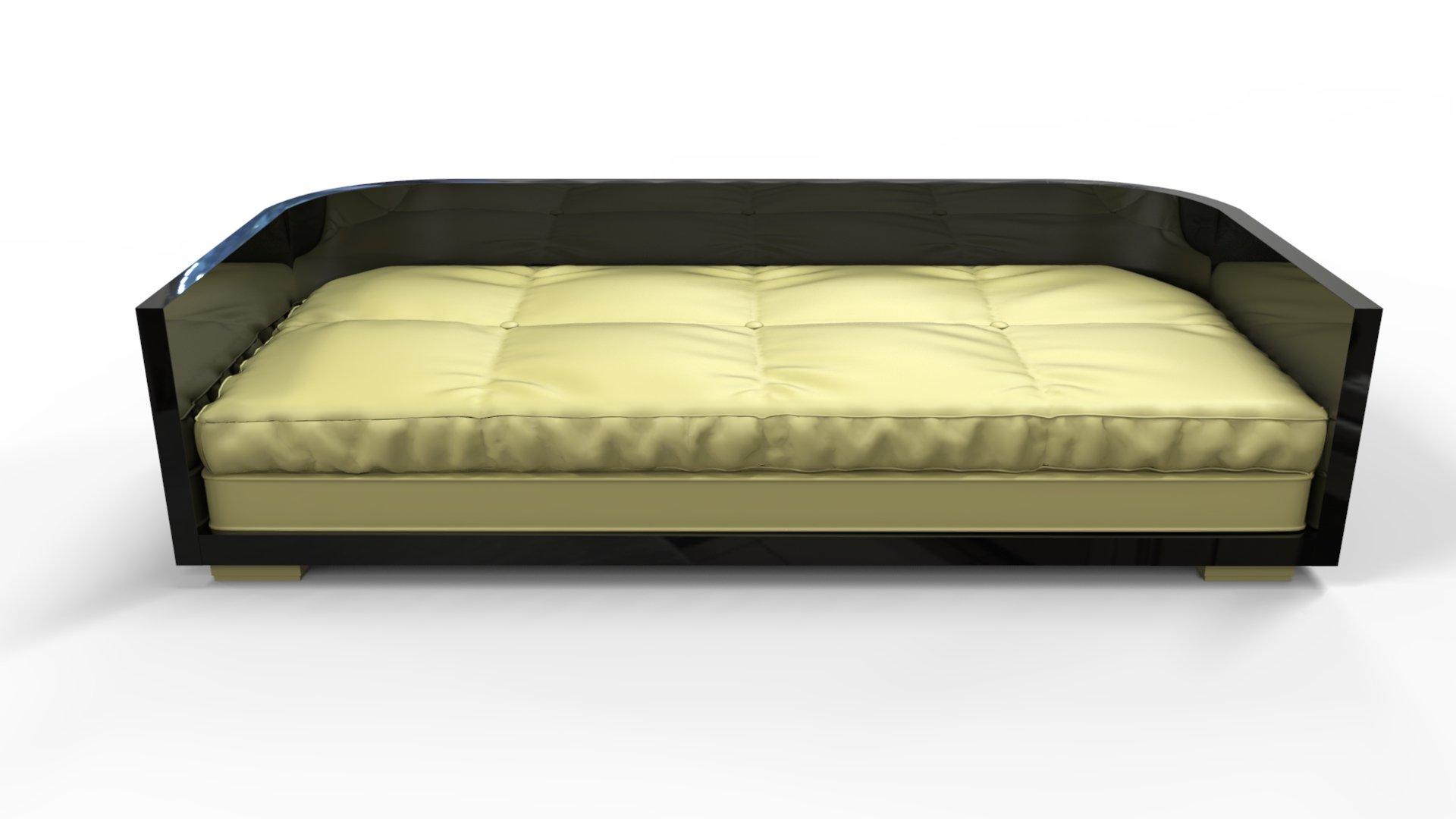 Black Art Deco Sofa, 1920s 4. $8,265.00. Price Per Piece